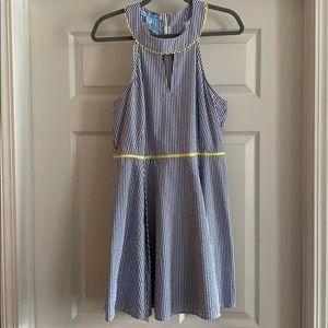 Draper James Payton Seersucker Dress NWT